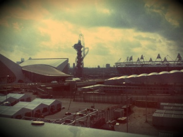 London Olympic Stadion 2012 - shot in retro style by myself