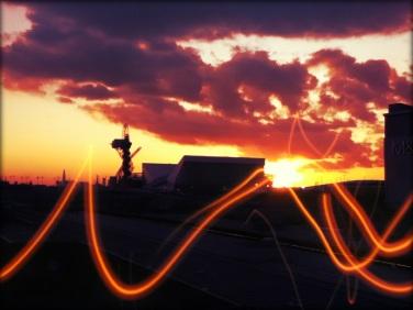 London Olympics site 2012 - beautiful sunset shot by myself