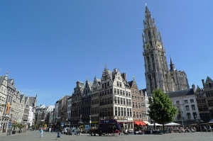 Grote Markt with cathedral